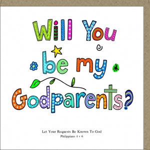 Will You Be My Godparents Code: PM180