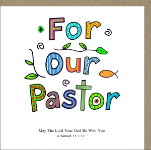 For Our Pastor Code: PM255