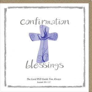 PM Greetings Card Confirmation Blessings Code: PM291