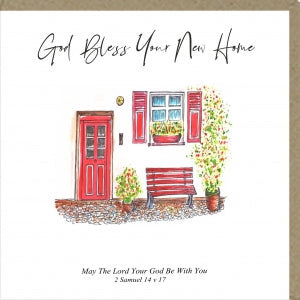 PMC God Bless Your New Home Greetings Card Code: PM367