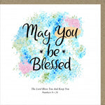 PM May You Be Blessed Greetings Card Code: PM456