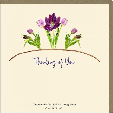 Thinking of You Greeting Card Code: PM497