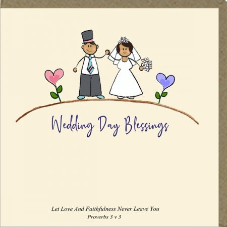 Wedding Day Blessing Greeting Card Code: PM500