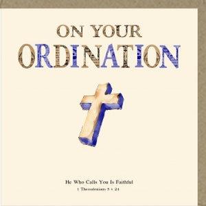 PMC On Your Ordination Greetings Card Code: PM390