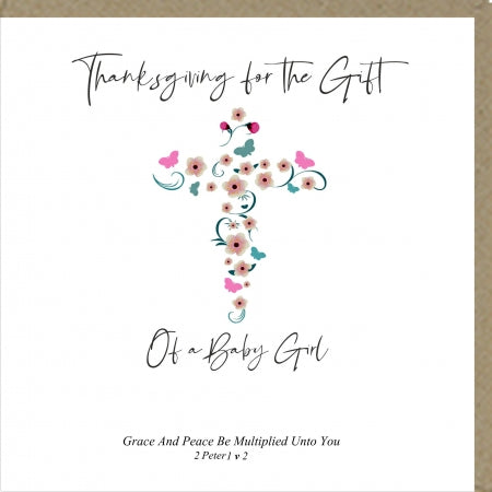 PMC Thanksgiving The Gift Of A Baby Girl Code: PM419