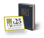 Premier Bible and £25 Garden of Eden Coffee Voucher