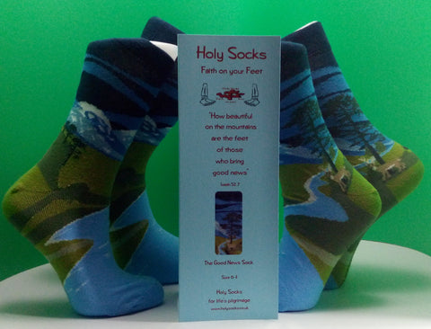 Holy Socks Good News (adult)