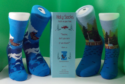 Holy Socks Calming the Storm (adult)