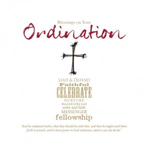 QWC - Blessings on Your Ordination  Code: QK101