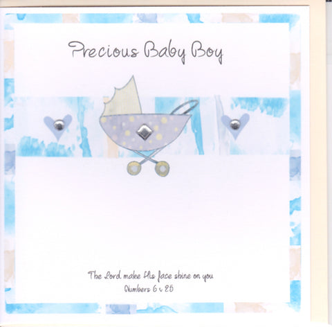 Potty Mouse Precious Baby Boy Greetings Card Code: ACA513