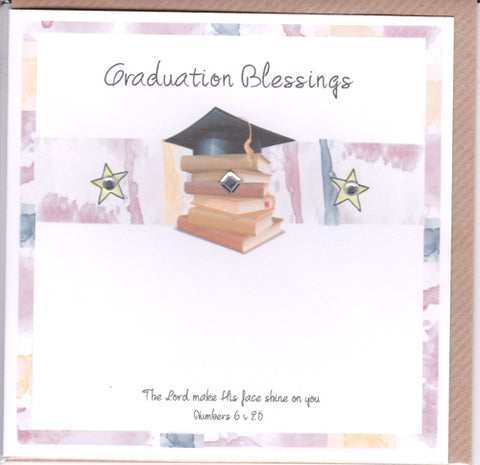 Potty Mouse Graduation Blessings Greetings Card Code: ACA529