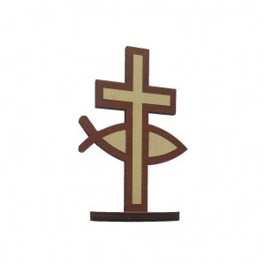Large Standing Cross - Itchus Code: SFW085-1