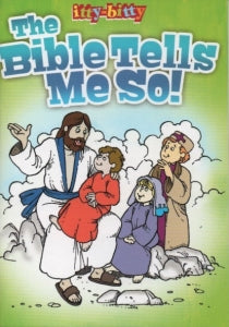 itty-bitty Activity Book - The Bible Tells Me So! Code: E5067