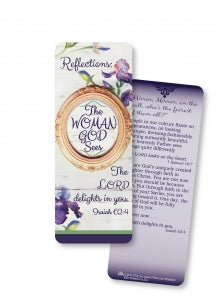 Reflections: The Woman God Sees Jumbo Bookmark Code: TDRFL7JBK