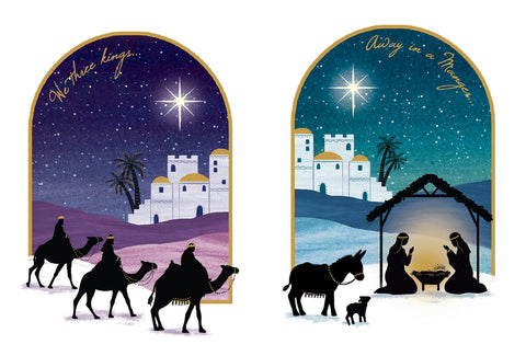 Silhouette Scenes - Pack of 20 Code: TF150