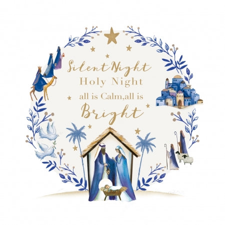 Silent Night, Holy Night - Pack of 10 Code: TF128