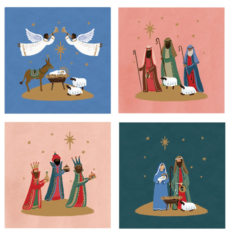 Nativity Scenes - Pack of 20 Code: TF153