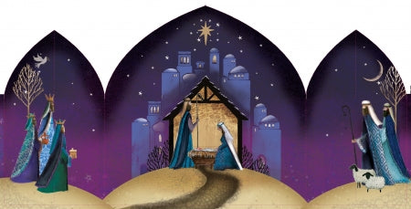 Christmas Nativity - Pack of 10 Code: TF135