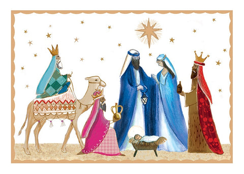 Simple Nativity - Pack of 10 Code: TF147