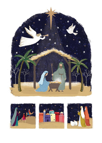 Arch Christmas Story - Pack of 10 Code: TF148