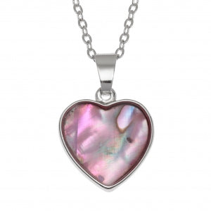 TJ Heart Necklace Pink Code: TJ495