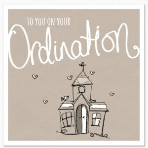 Tracey Russell Greetings Card Ordination Code: TRCAR24