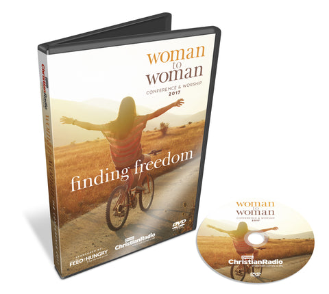 Woman to Woman - Finding freedom DVD cover