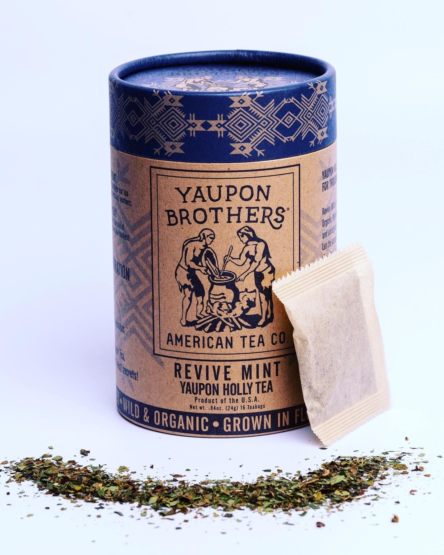 Yaupon Brothers American Tea Company Introduces Revive Mint as Newest Tea Blend