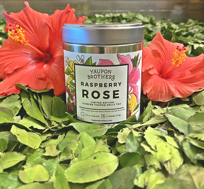 Limited Edition Raspberry Rose Yaupon, (2.5oz. Loose Leaf)