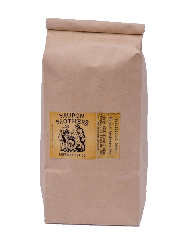 American Green Blend Yaupon (1 lb. Bulk Loose Leaf)