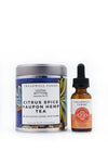 Citrus Spice Yaupon Hemp Tea