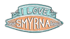 I Love New Smyrna Beach sticker