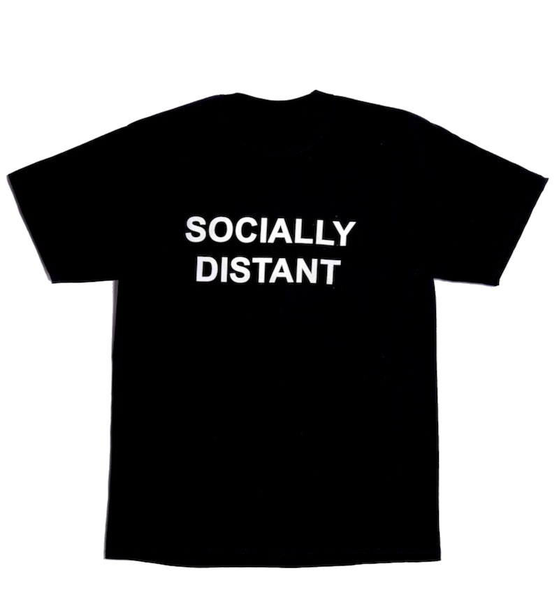 "Socially Distant ""Tea""-Shirt"