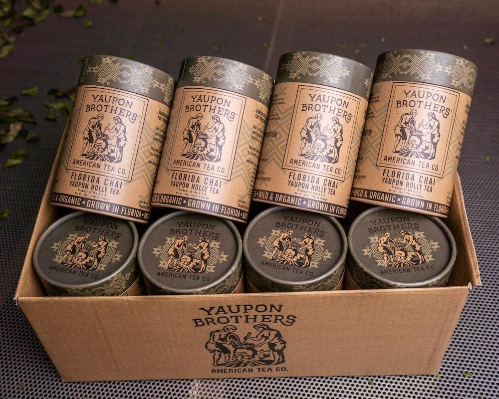 Florida Chai Yaupon Tea (Case of 12)
