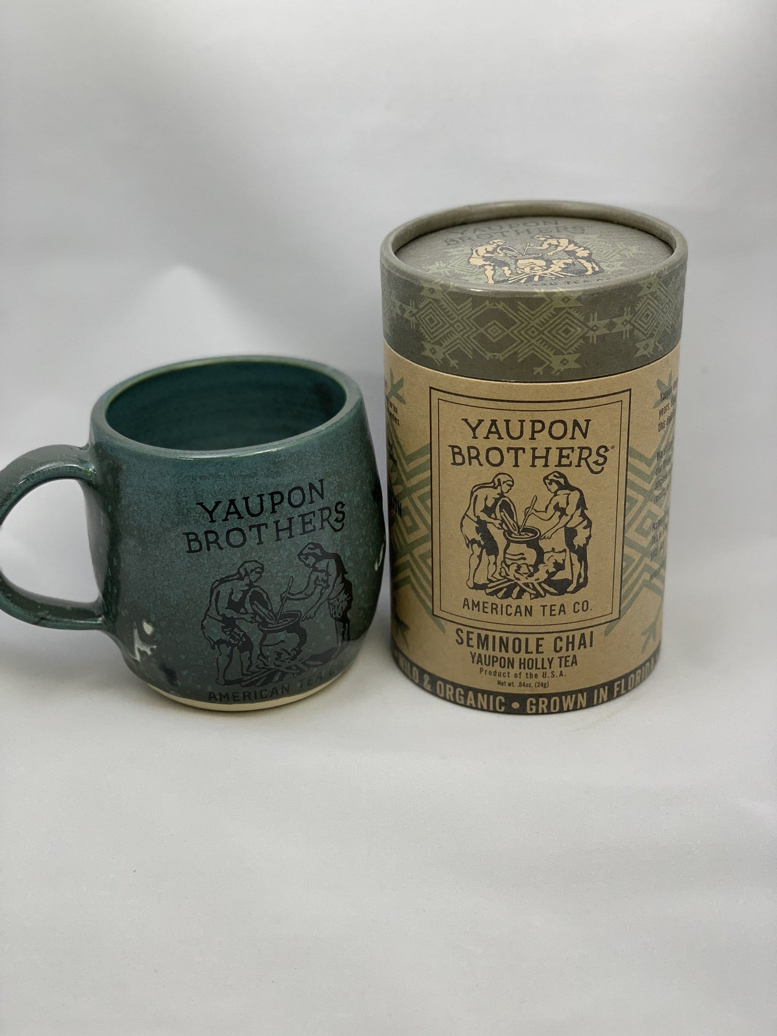 Mug/Eco-Tube Combo - Yaupon Brothers American Tea Co.