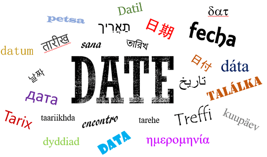 How do you say Dates?