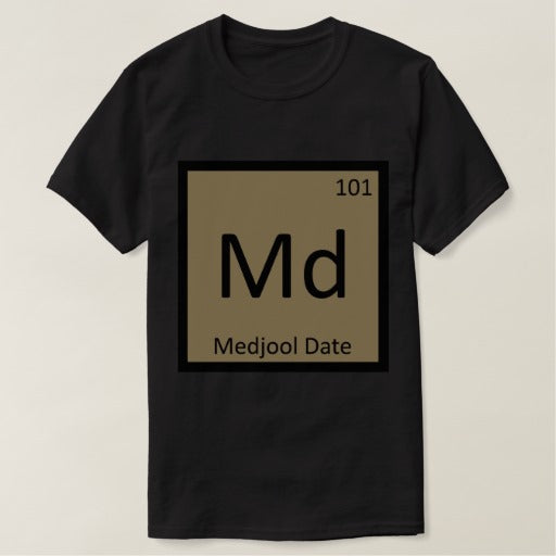 Medjool date shirt