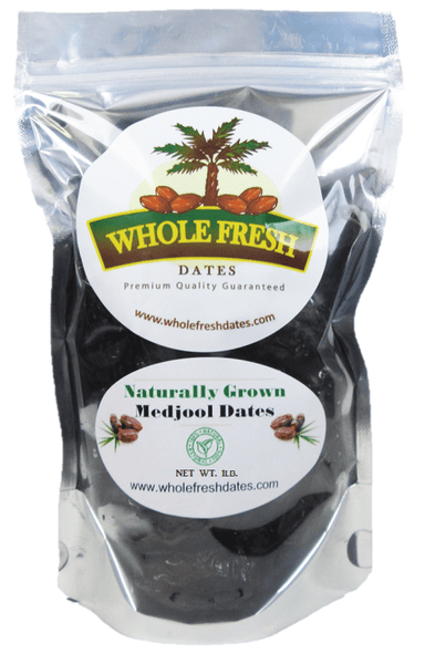 1 pound organic medjool dates