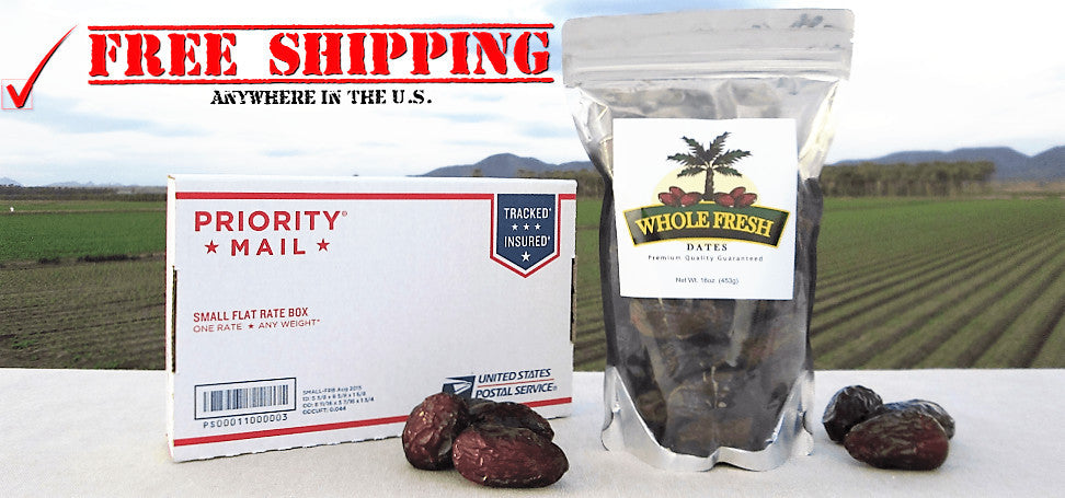 Free Shipping Medjool Dates