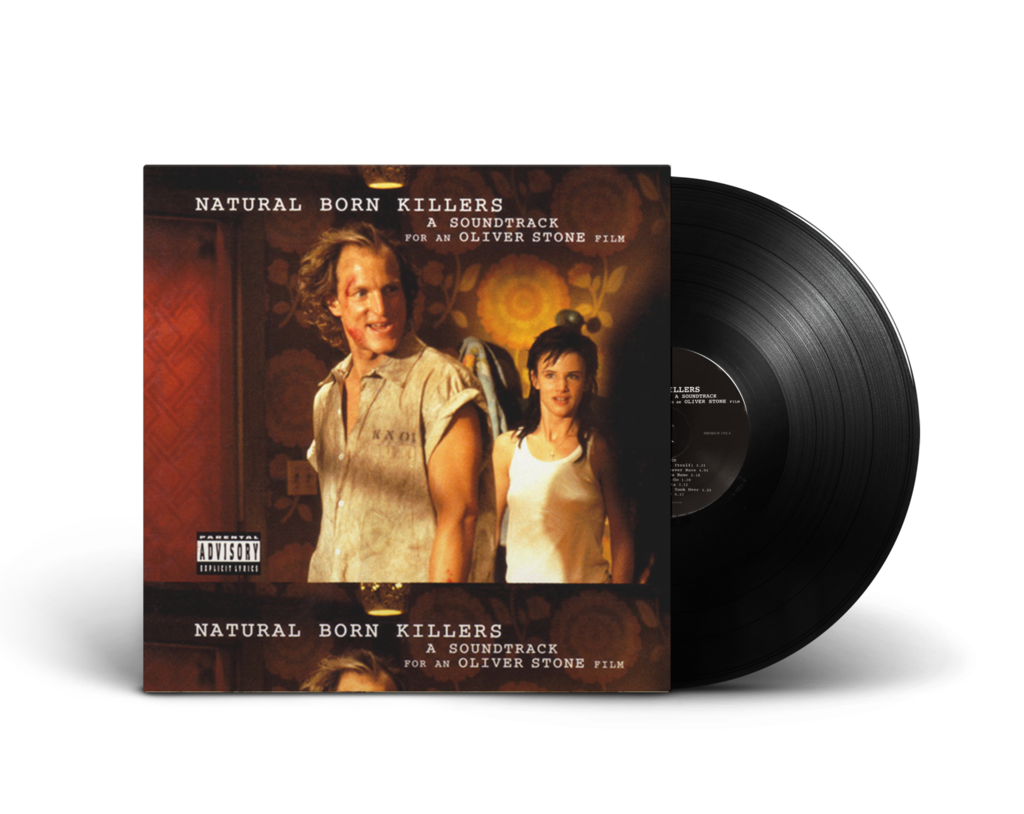 NATURAL BORN KILLERS OST <br/><span>2016 PRESSING <br/>2XLP  + HI RES DIGITAL</span>