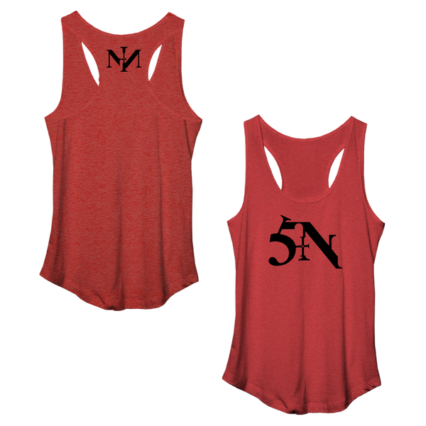 Sin Womens Racerback Tank - Nine Inch Nails  - 1