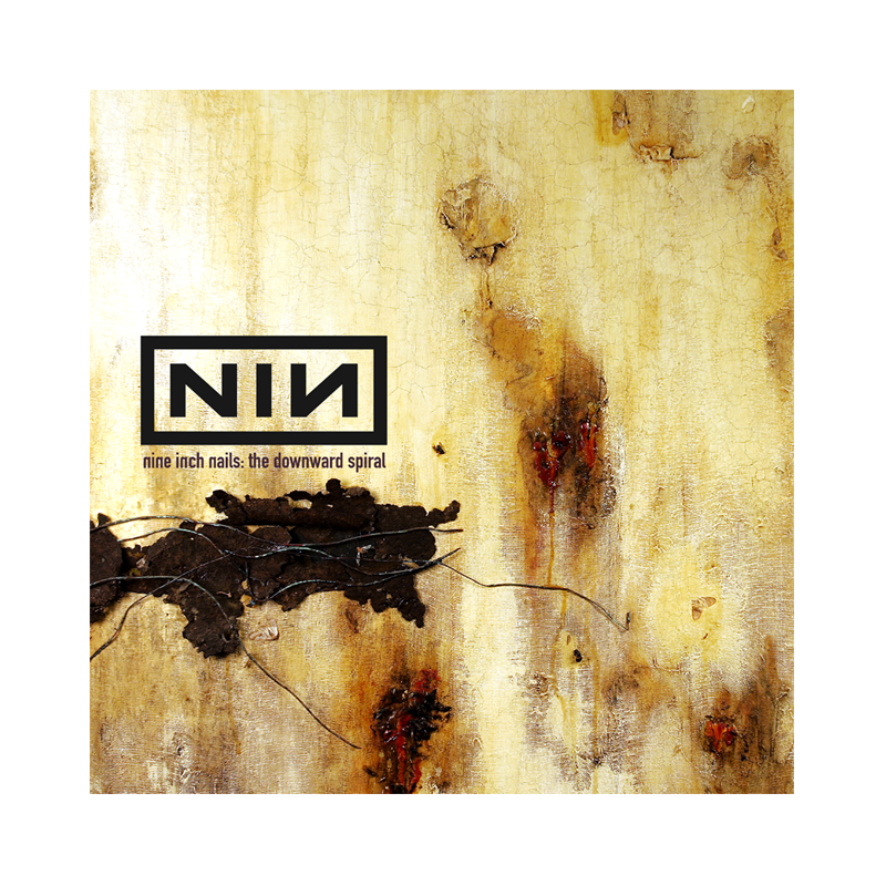 The Downward Spiral Wall Flag - Nine Inch Nails