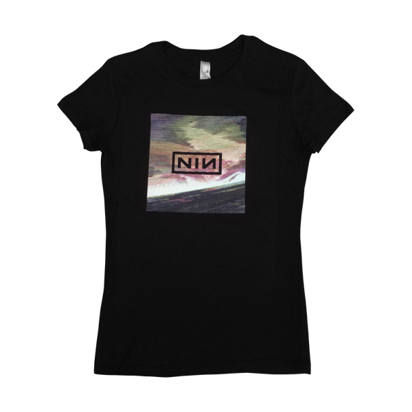 Wave Box Womens Tee - Nine Inch Nails  - 1