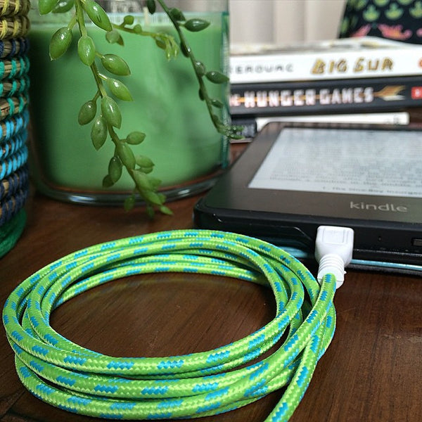Green Apple Micro USB Cable for Android - BASIC
