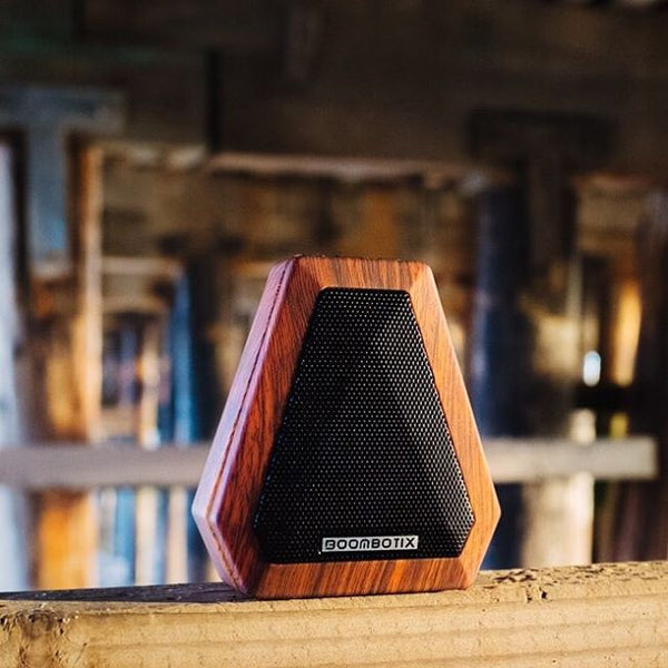Wood Grain Mini Bluetooth Wireless Speaker
