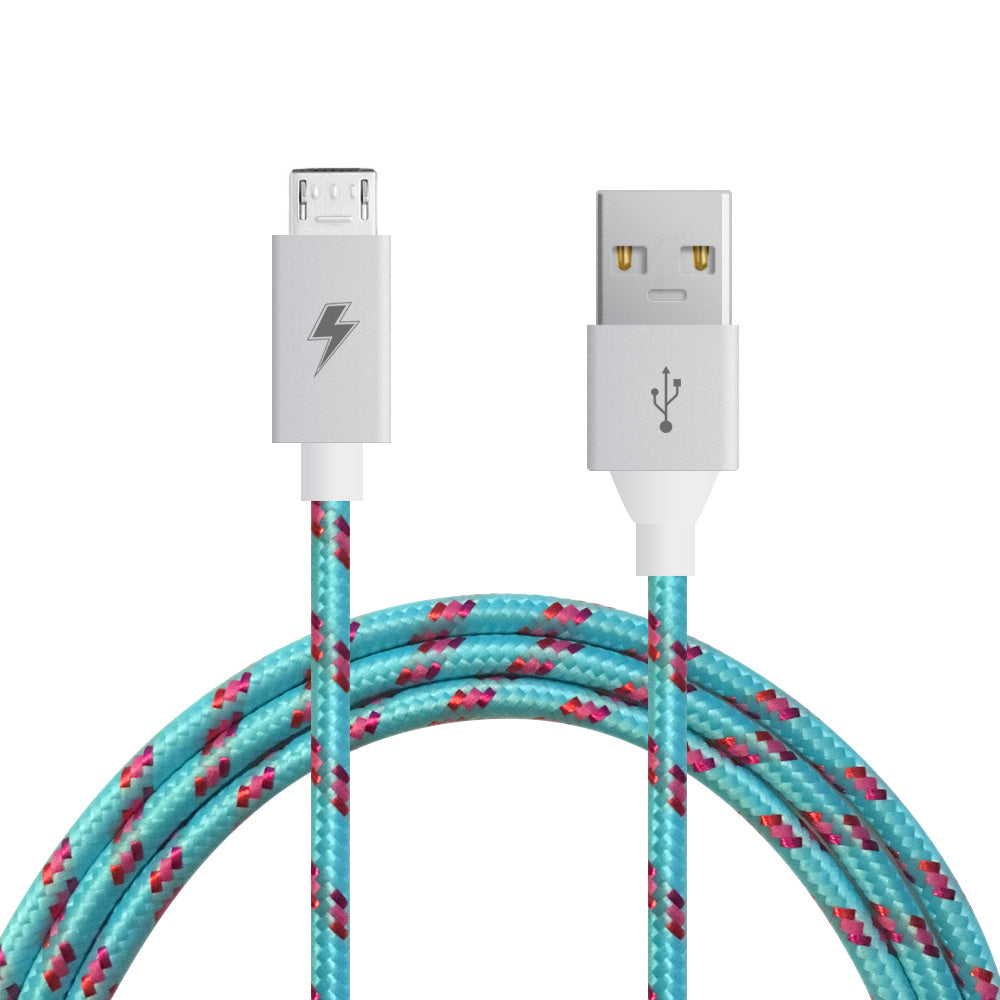 Cotton Candy Micro Usb Cable For Android Charge Cords