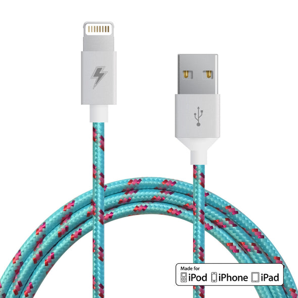 Cotton Candy Lightning Cable [10 ft / 3m length]
