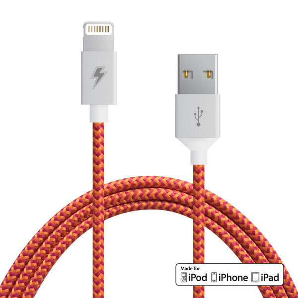 Mango Lightning Cable for iPhone, iPad, iPod [MFi Certified]