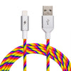 Rainbow Lightning Cable [5 ft / 1.5m length]