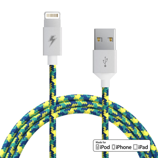 Reef Lightning Cable for iPhone, iPad, iPod [MFi Certified]